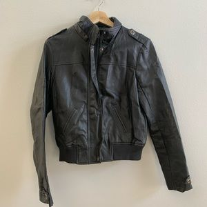 Charlotte Russe medium bomber jacket